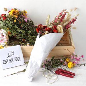 Atelier Bouquet Fleurs Séchées avec Adelaide Avril