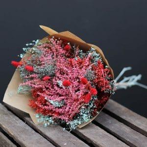 Bailey Misty Bouquet de fleurs séchées