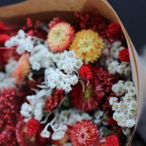 Emery Misty Bouquet de fleurs séchées