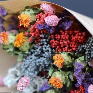 Hazel Misty Bouquet de fleurs séchées