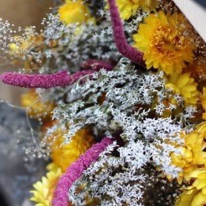Kelie Misty Bouquet de fleurs séchées