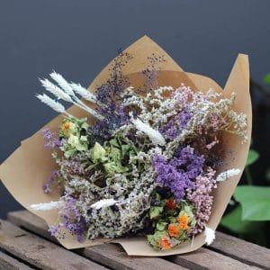 Madison Misty Bouquet de fleurs séchées