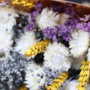 Rylee Misty Bouquet de fleurs séchées
