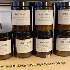 Bougie naturelle WABI-SABI