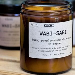 Bougie parfumée Kochi No 1