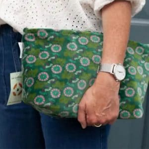 Pochette Airport Oak Green