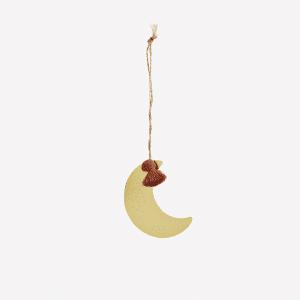 Lune suspendu