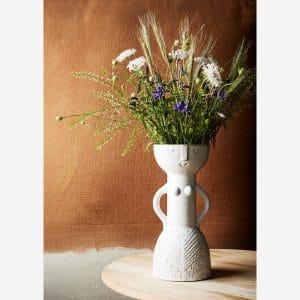 Vase empreinte de femme