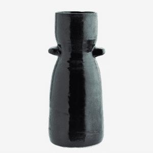 vase en grès noir