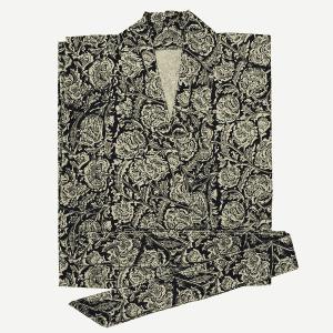 Kimono coton imprimé