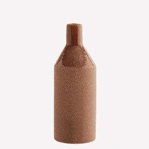 Vase en grès brique