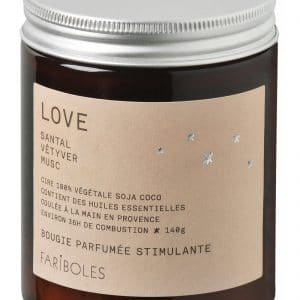 Bougie LOVE Fariboles 140g
