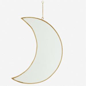 Miroir de lune suspendu